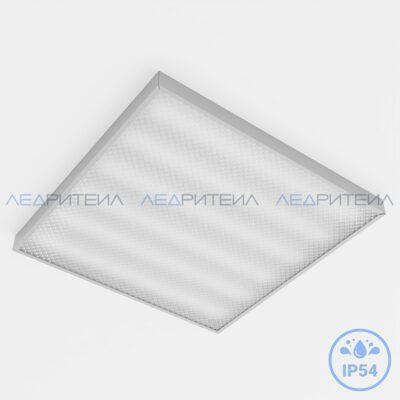 Влагозащищенный светильник Армстронг SR AR 60W 7600Lm IP54 3000К 595x595x40mm Призма