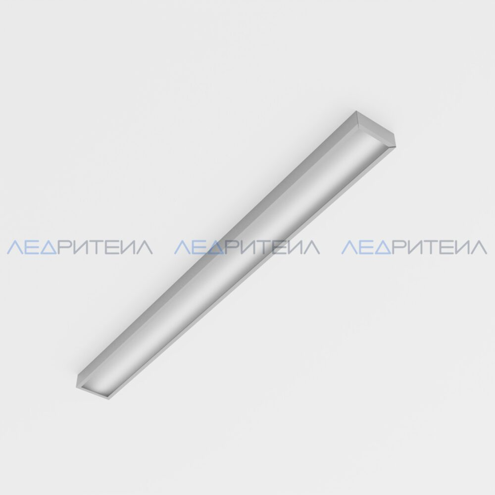 Светильник Армстронг SR AR LONG 17W 2300Lm IP40 5000К 1200x90x40mm Опал
