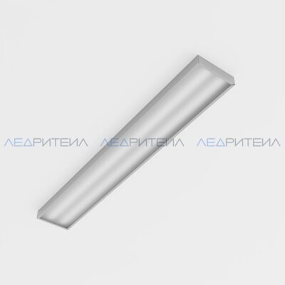 Светильник Армстронг SR AR LONG 45W 5800lm IP40 5000К 1195x180x40mm Опал
