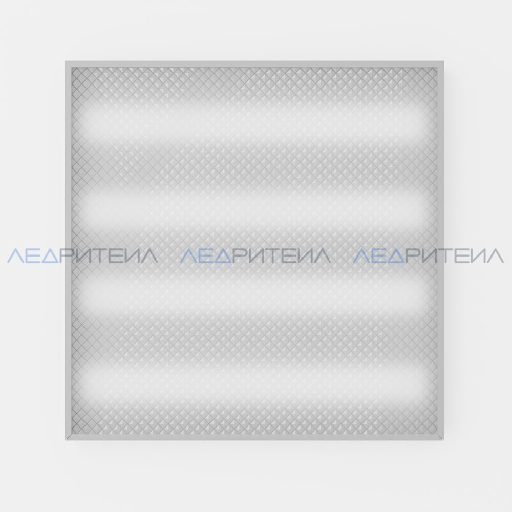 Светильник Армстронг SR AR ECO 40W 3500Lm IP40 6000К 595x595x40mm Призма