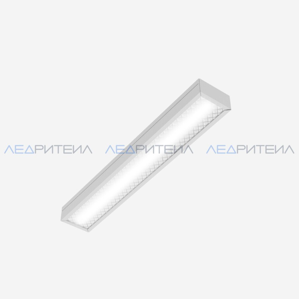 Светильник Армстронг SR AR ECO LONG 10W 825Lm IP40 4000К 595x110x40mm Призма